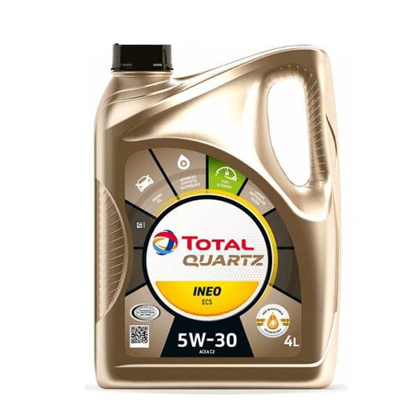Моторно масло TOTAL QUARTZ INEO ECS 5W30 4л