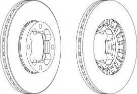 Спирачни дискове SAMKO - S4051V