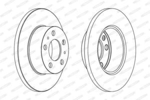 Спирачни дискове SAMKO - V1031P