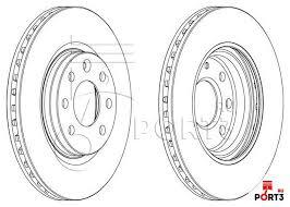 Спирачни дискове SAMKO - V1486V