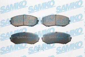 Спирачни накладки SAMKO - 5SP1318