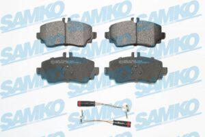 Спирачни накладки SAMKO - 5SP1387