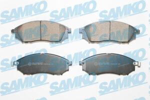 Спирачни накладки SAMKO - 5SP1406