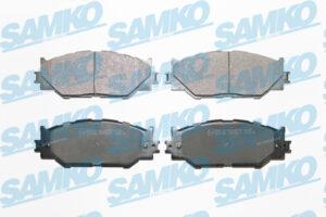 Спирачни накладки SAMKO - 5SP1412