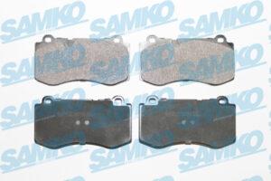 Спирачни накладки SAMKO - 5SP1506