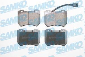 Спирачни накладки SAMKO - 5SP1552