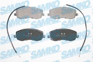 Спирачни накладки SAMKO - 5SP1557