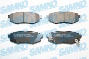 Спирачни накладки SAMKO - 5SP1577