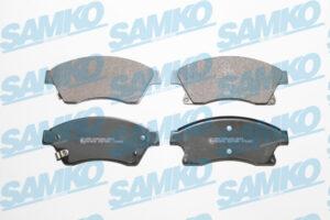 Спирачни накладки SAMKO - 5SP1581