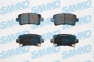 Спирачни накладки SAMKO - 5SP1584