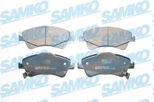 Спирачни накладки SAMKO - 5SP1589