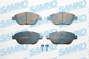 Спирачни накладки SAMKO - 5SP1590