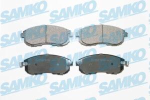 Спирачни накладки SAMKO - 5SP1606