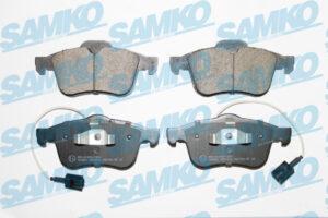 Спирачни накладки SAMKO - 5SP1612