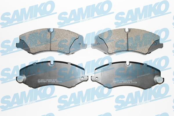 Спирачни накладки SAMKO - 5SP1616