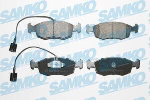 Спирачни накладки SAMKO - 5SP1653