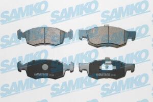Спирачни накладки SAMKO - 5SP1654