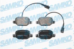 Спирачни накладки SAMKO - 5SP1661