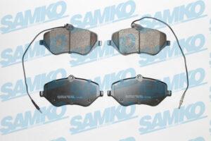 Спирачни накладки SAMKO - 5SP1666