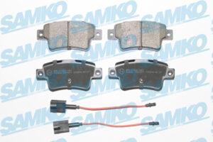 Спирачни накладки SAMKO - 5SP1677