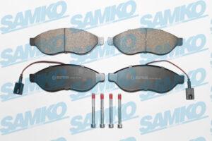 Спирачни накладки SAMKO - 5SP1698