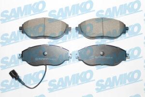 Спирачни накладки SAMKO - 5SP1734