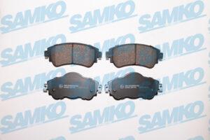 Спирачни накладки SAMKO - 5SP1740