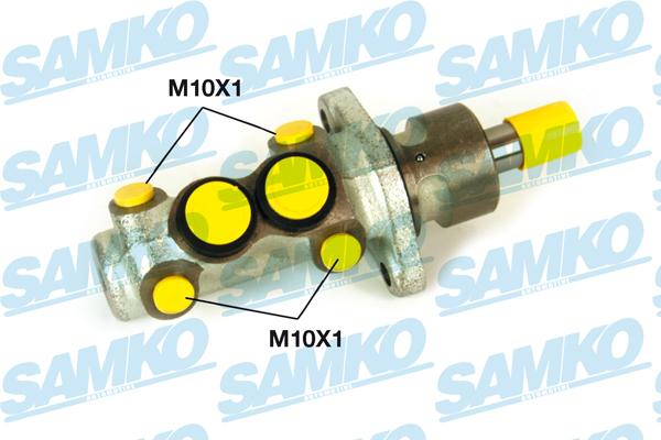 Спирачна помпа SAMKO за AUDI 80, 90, 100 - P02708