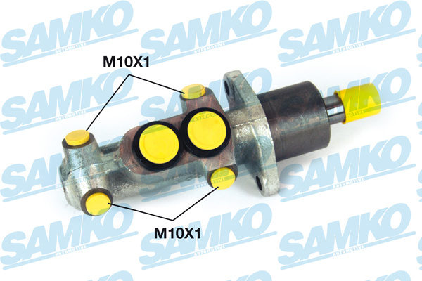 Спирачна помпа SAMKO за AUDI 100, 80 - P02709