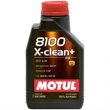 Моторно масло MOTUL 8100 X-CLEAN+ 5W30 1L