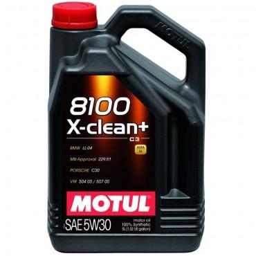 Моторно масло MOTUL 8100 X-CLEAN+ 5W30 5L