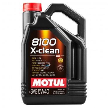Моторно масло MOTUL 8100 X-CLEAN 5W40 5L