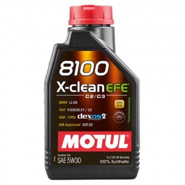 Моторно масло MOTUL 8100 X-CLEAN EFE 5W30 1L