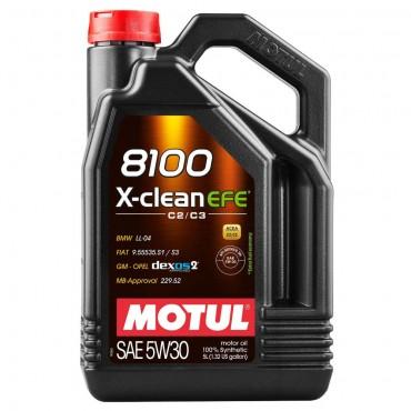 Моторно масло MOTUL 8100 X-CLEAN EFE 5W30 5L
