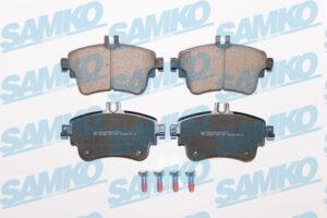 Спирачни накладки SAMKO - 5SP1780