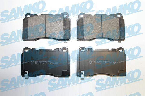 Спирачни накладки SAMKO - 5SP1783