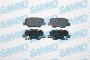 Спирачни накладки SAMKO - 5SP1802