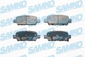 Спирачни накладки SAMKO - 5SP1862