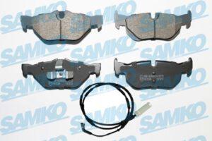 Спирачни накладки SAMKO - 5SP1876A