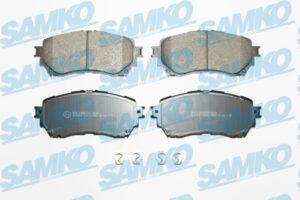 Спирачни накладки SAMKO - 5SP1916