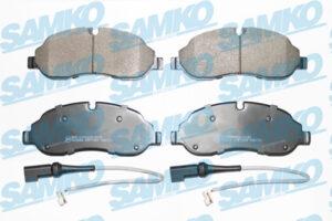 Спирачни накладки SAMKO - 5SP1984A