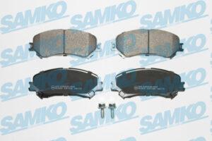 Спирачни накладки SAMKO - 5SP1996