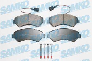 Спирачни накладки SAMKO - 5SP1997