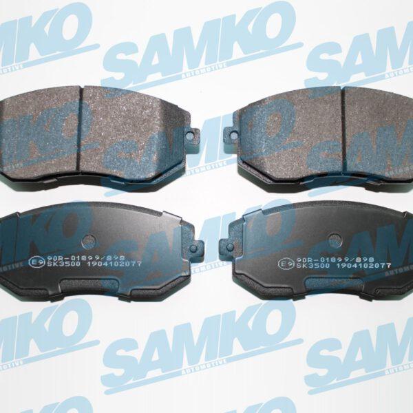 Спирачни накладки SAMKO - 5SP2077