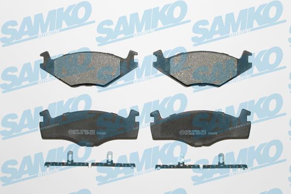 Спирачни накладки SAMKO - 5SP225