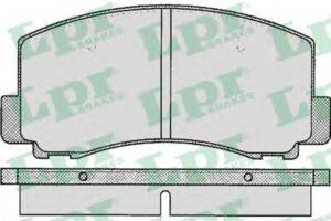 Спирачни накладки SAMKO - 5SP263