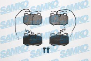 Спирачни накладки SAMKO - 5SP272