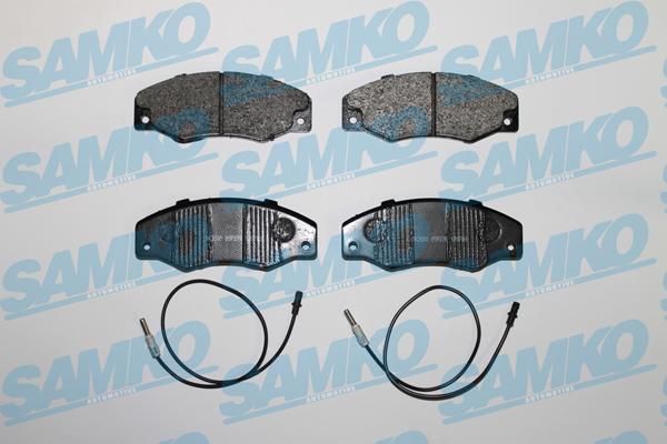 Спирачни накладки SAMKO за RENAULT 21 - 5SP276