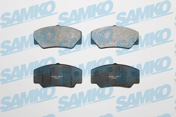 Спирачни накладки SAMKO за FORD - 5SP277