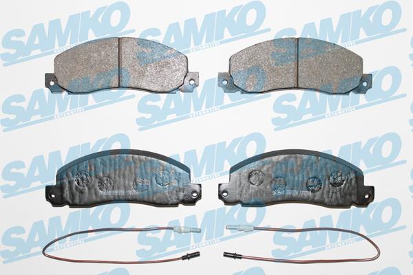 Спирачни накладки SAMKO за Renault - 5SP278